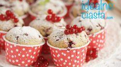 piegowate muffinki z porzeczkami
