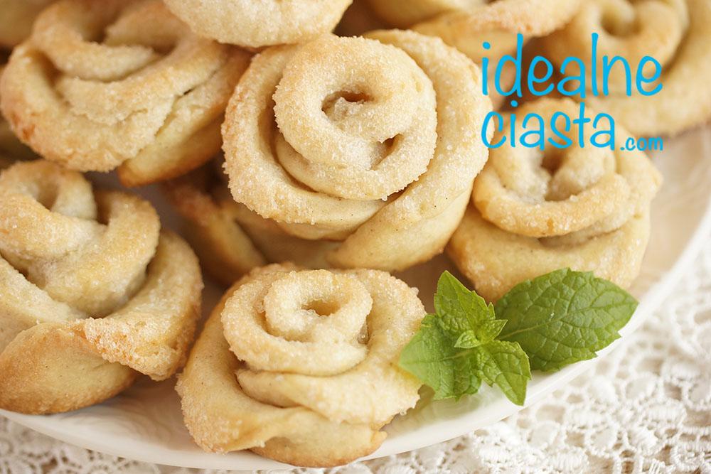 maÅ›lane ciasteczka z cukrem przepis