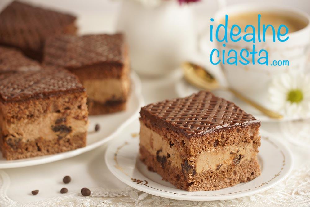 ciasto czekoladowe ze Å›liwkami